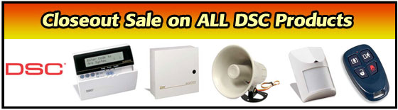 DSC Products Closeout Sale
