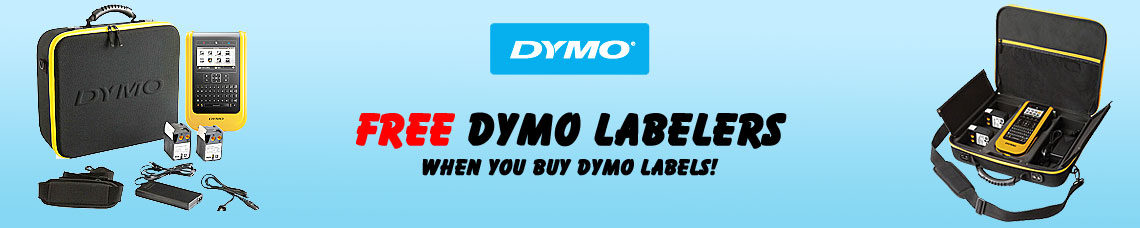 Free Dymo Labeler with Dymo Label purchase Promo