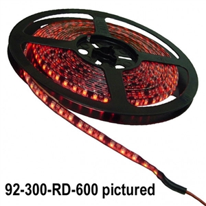 Calrad 92-300-(Select LED Color)-600600 1-Chip LED 5-Meter Light Strip on reel - Select Color