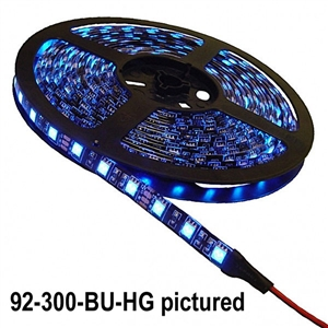 Calrad 92-300-(Select LED Color)-HG300 3-Chip LED High Grade 5-Meter Light Strip on reel - Select Color