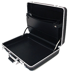 Platt Cases 06385 High-Impact Polypropylene Attache Case