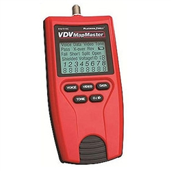 T119C VDV MapMaster Voice, Data and Video Tester