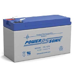Powersonic PS-1270 Sealed Lead Acid Battery - 12 Volt 7 amp hour