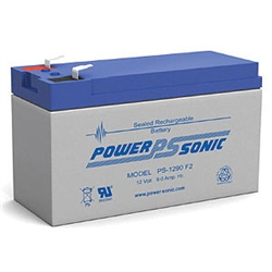PS-1290F2 12 Volt 9 Amp Hour Rechargeable Battery - Sealed Lead Acid  - SLA Battery