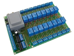 K6714-16 Universal Relay Card with 16 Relays Kit