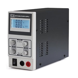 Power Supply, DC Laboratory Switching Mode 0-30 VDC 0-3 Amps